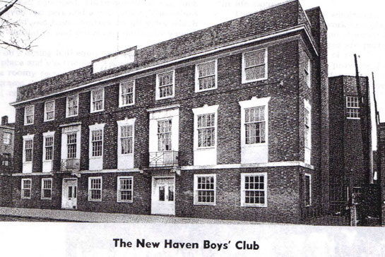 Original Boys & Girls Club Building in New Haven