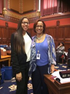 Kelcey and Representative Toni E. Walker